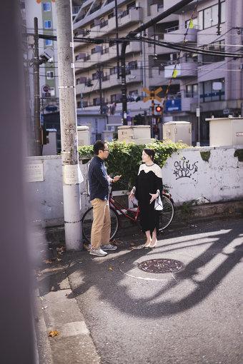 左から:松井周、村田沙耶香