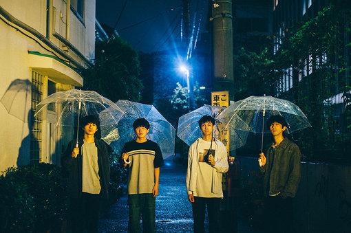ミツメ<br>左から:大竹雅生、川辺素、須田洋次郎、nakayaan<br>2009年、東京にて結成。4人組のバンド。2019年4月にアルバム『Ghosts』をリリース。