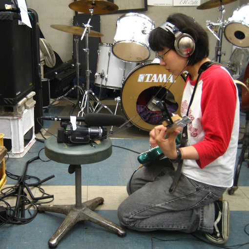 ラミ子提供写真「一人で頑張る柴田」