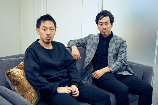左から:TOW社員の一瀬大樹、松井一生
