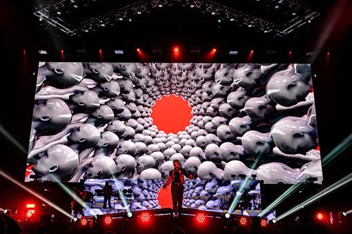 BRING ME THE HORIZON 11月16日、さいたまスーパーアリーナ公演より 撮影:Masanori Naruse