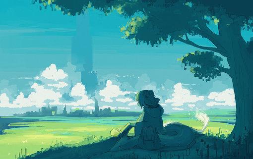 はるまきごはんが描いた『風のひとやすみ』