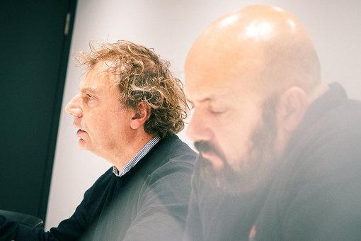 左から:マティアス・オグスティニアック、ミカエル・アムザラグ