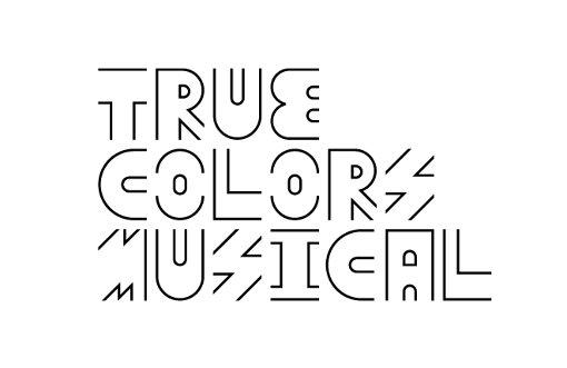 『True Colors Musical』ロゴ