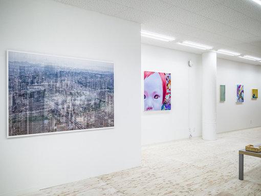 京都を中心に活動する若手作家作品のウェブアーカイブとして機能すると同時に、作品を行政、企業、個人へリース・販売、行政や企業からの委託を受けたコーディネートやコミッションワークの提案、アートフェア、企画展の運営、設置空間のアートディレクションなども行なっている 撮影:Kenryou Gu