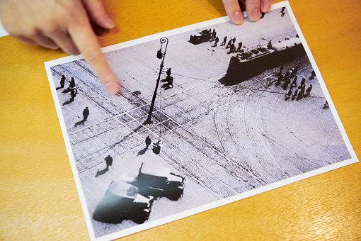 アイデアのきっかけとなったロトチェンコの写真