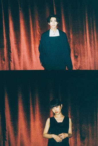 上から:賀来賢人、アイナ・ジ・エンド