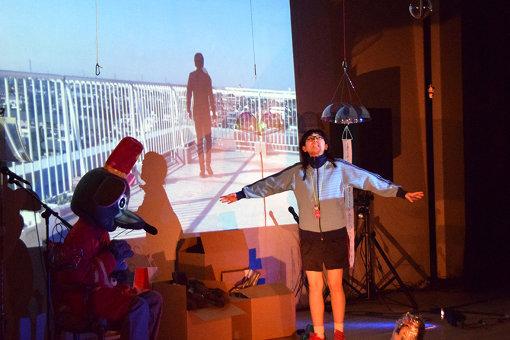マームと誰かさん(穂村弘×マームとジプシー×名久井直子)『ぬいぐるみたちがなんだか変だよと囁いている引っ越しの夜』 / マームとジプシーにとって初の長崎公演が実現した