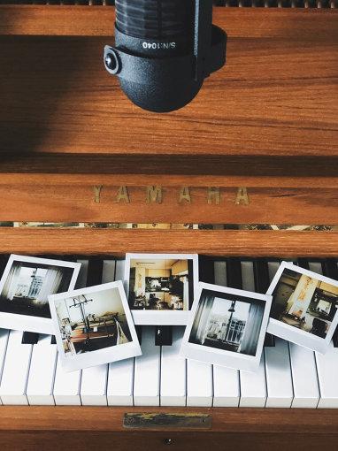 HADEN BOOKS:よりharuka nakamuraの家に運び込まれたピアノ。アルバム『スティルライフ』制作期間中に毎日書いていた制作日誌「一月十日 録音開始「新しい朝」」より