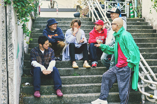 左から:DJ JIN、ANI、Mummy-D、Bose、SHINCO、宇多丸
