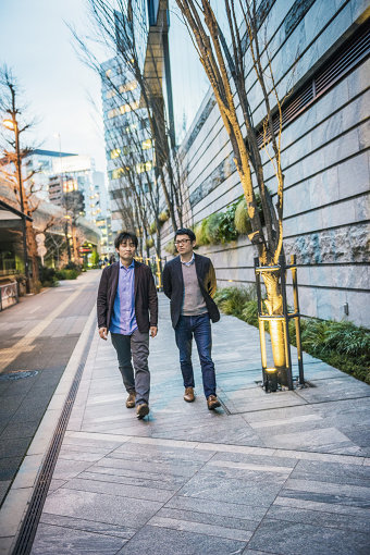 左から:柴那典、高橋明彦(LINE MUSIC)