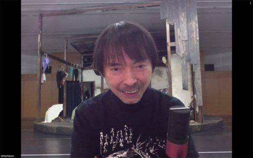 宮城聰(SPAC-静岡県舞台芸術センター芸術総監督) / インタビューはビデオ通話にて実施された