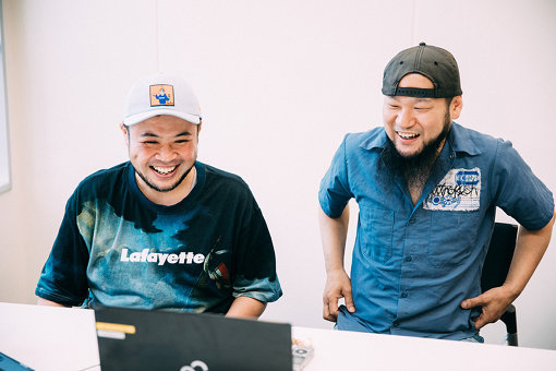 左から:サイプレス上野、ロベルト吉野