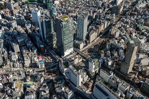 再開発が進む渋谷駅前の様子(提供:東急株式会社)
