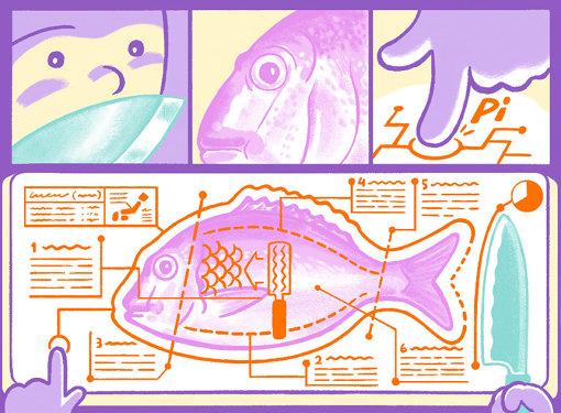 「まな板コンピューティング」のイメージ図