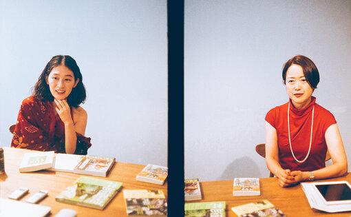 左から:コムアイ、杉原梨江子