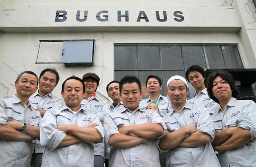 BUGHAUSのメンバー 撮影:住中浩史