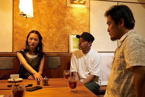 左から:野木青依、EAT&ART TARO、北條元康