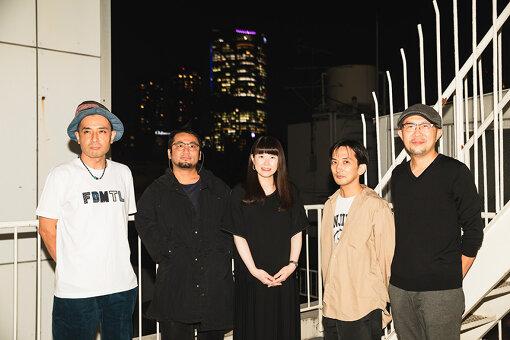 左から:カンガルー鈴木、小野雄紀、Ayako Taniguchi(谷口彩子)、原田亮、城隆之(no.9)