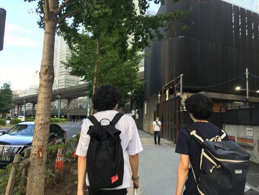 東京チームのリサーチの様子