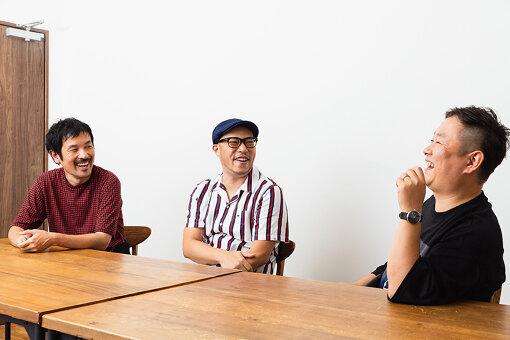 左から:野村志郎、田中大輔、柏井万作