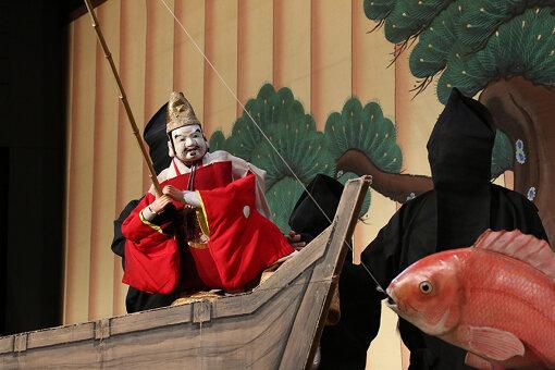 淡路人形浄瑠璃『戎舞』