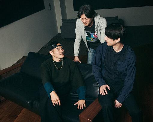左から:高岩遼、谷健二、田中理来