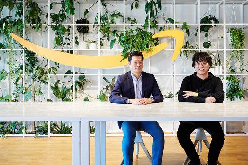 左から:島田和大(アマゾンジャパン デジタル音楽事業本部アーティスト&レーベルリレーションズ本部長)、和田直希(LAND代表・クリエイティブディレクター)