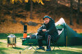F/CE.の山根敏史に訊く、ノルディスクで過ごす快適な冬キャンプ