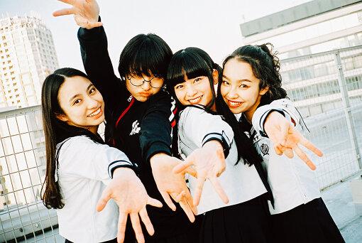 左から:KANON、SUZUKA、MIZYU、RIN