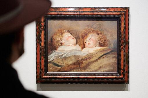 ペーテル・パウル・ルーベンス『眠る二人の子供』1612-1613年頃 国立西洋美術館蔵