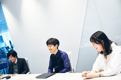 左から:Honda担当者、水谷正紘、郭春佳