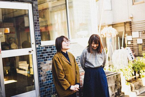 左から:光浦靖子、吉住