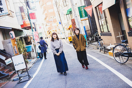 左から:吉住、光浦靖子