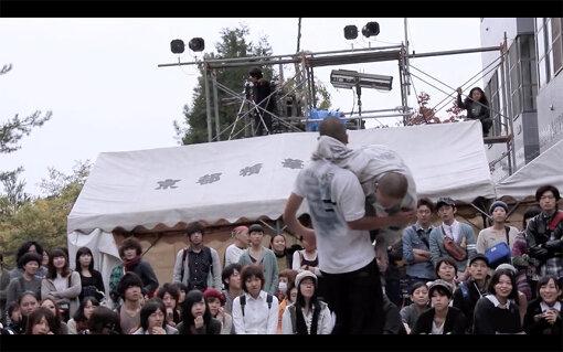 『contact Gonzo at Kinosai / Seika Univ. 2012』 / Vimeoで見られるcontact Gonzoの一番古い映像