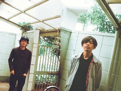 左から:岸田繁(くるり)、君島大空