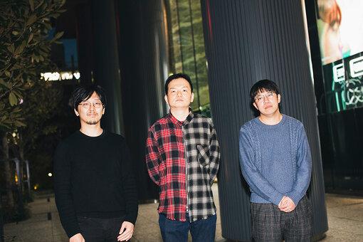 左から:近藤裕一郎、佐々木渉、入江陽