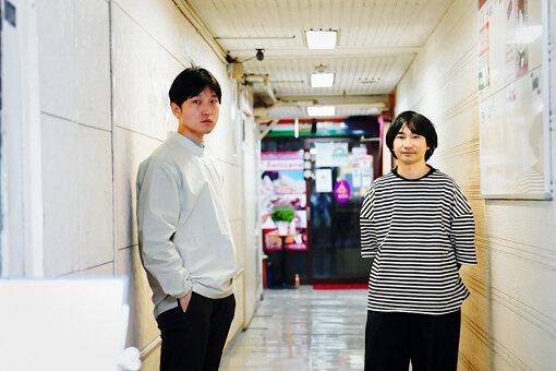 左から:蓮沼執太、和田永