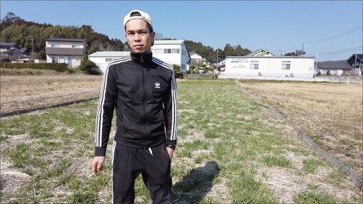 山崎さんの管理している田んぼ / 撮影:CINRA.NET編集部