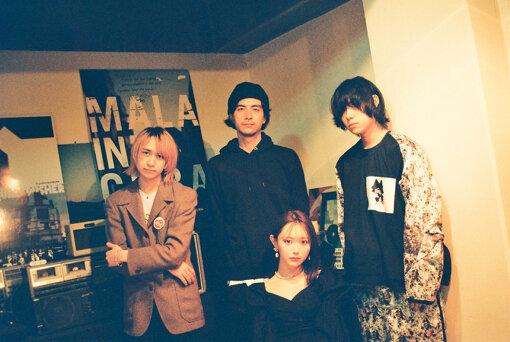 左から:Natsuki、Tamio、菅野結以、エンドウアンリ