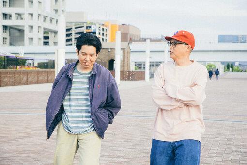 左から:安部勇磨、Bose