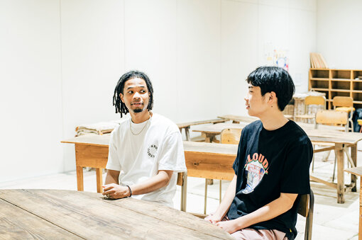 左から:Daichi Yamamoto、ryota sakamoto