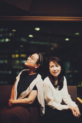 左から:ジェーン・スー、堀井美香