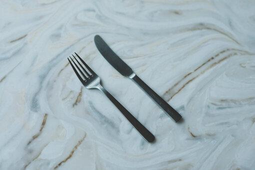 「ミッケラー トウキョウ」で使用している、デンマークの「カイ・ボイスン」のカトラリー