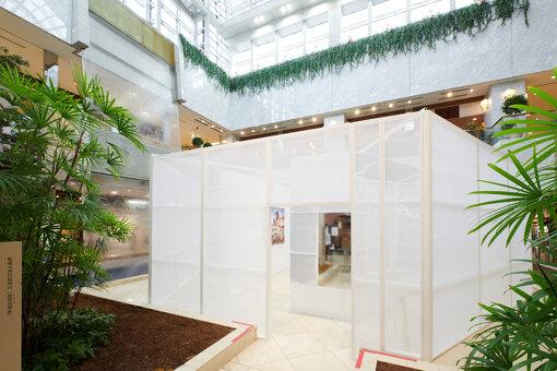 そごう千葉店9階 滝の広場にある展示会場