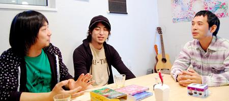 L.E.D.×タナカカツキ対談 行け、青春ものづくり部!