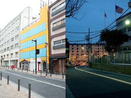 写真左:リスニングスポット1 阿部海太郎×芋洗坂、写真右:リスニングスポット2 ECD×星条旗通り(※4月1日スタート)