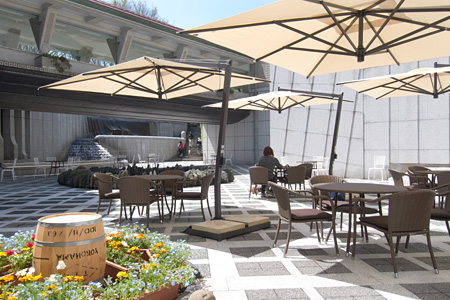 世田谷美術館地下に新たにオープンしたカフェ・ボーシャン
