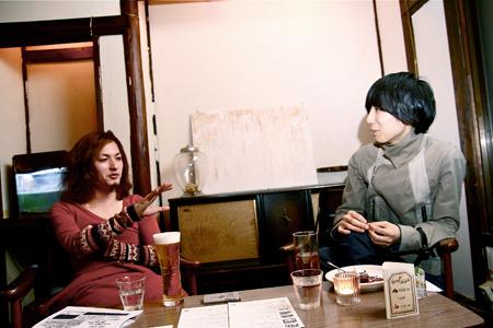 左:ササキゲン(KUDANZ) 右:川谷絵音(indigo la End)