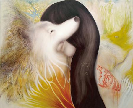 キス/ Kiss 2273×1818 oil on canvas